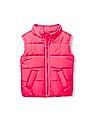 The Children's Place Toddler Girl Solid Puffer Vest