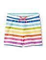 The Children's Place Girls Matchables Printed Knit Shorts