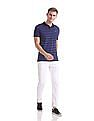 Ruggers Regular Fit Stripe Polo Shirt