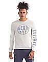 Aeropostale Round Neck Long Sleeve T-Shirt