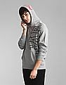 GAP Grey Hooded Logo Sweatshirt