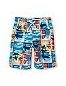 The Children's Place Boys Printed Swim Trunks