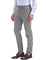 Arrow Newyork Super Slim Fit Patterned Weave Trousers