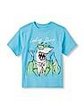 The Children's Place Boys Short Sleeve 'Looking Sharp' Shark Graphic Tee