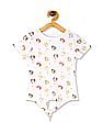 Colt White Girls Disney Princess Print Knit Top