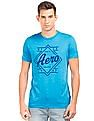 Aeropostale Brand Print Regular Fit T-Shirt
