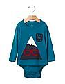 GAP Baby Graphic Long Sleeve Body Double