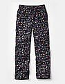 GAP Boys Blue Flannel PJ Pants