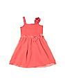 Cherokee Girls Mesh Fit And Flare Dress