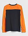 GAP Boys Logo Colorblock T-Shirt
