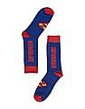 Colt Superman Print Crew Socks