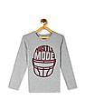 The Children's Place Grey Boys Long Sleeve Hustle Mode Graphic T-Shirt