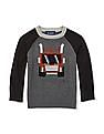 The Children's Place Toddler Boy Intarsia Raglan Sleeve Sweater