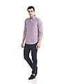 Gant Tech Prep Oxford Check Regular Hidden Button Down Shirt