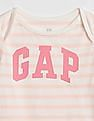 GAP Baby Logo Stripe Bodysuit