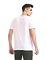 Colt White Round Neck Graphic T-Shirt