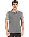 Arrow Sports Printed Front Regular Fit Polo Shirt
