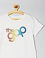 GAP Girls Short Sleeve Logo Graphic T-Shirt