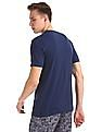 Cherokee Blue Patch Pocket Solid T-Shirt