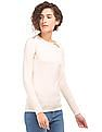 Nautica Solid Knitted Sweater