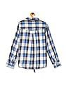 Cherokee Tie Up Hem Check Shirt
