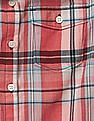 GAP Girls Plaid Sleeveless Shirt