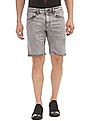 Ed Hardy Slim Fit Washed Denim Shorts