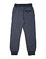 FM Boys Heathered Slim Fit Joggers
