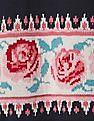 GAP Baby Rose Border Ruffle Sweater Dress